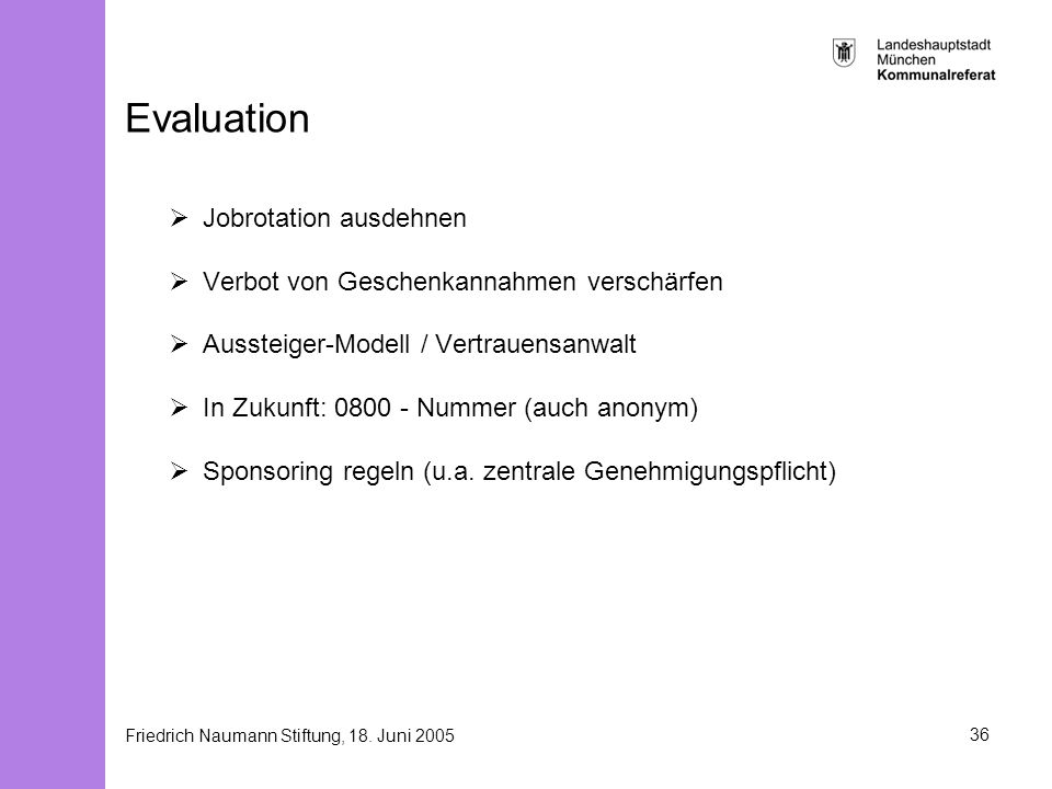 Evaluation Jobrotation ausdehnen