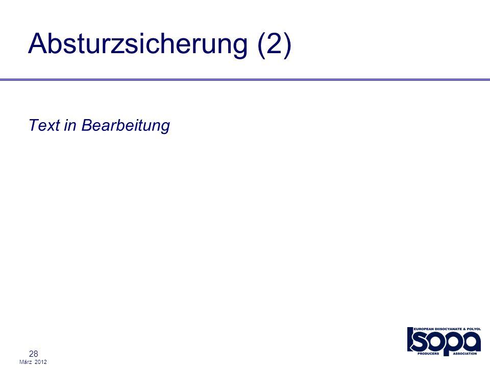 Absturzsicherung (2) Text in Bearbeitung 28