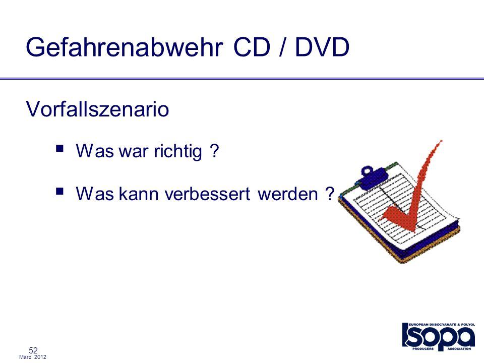 Gefahrenabwehr CD / DVD