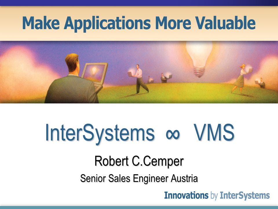 Robert C.Cemper Senior Sales Engineer Austria