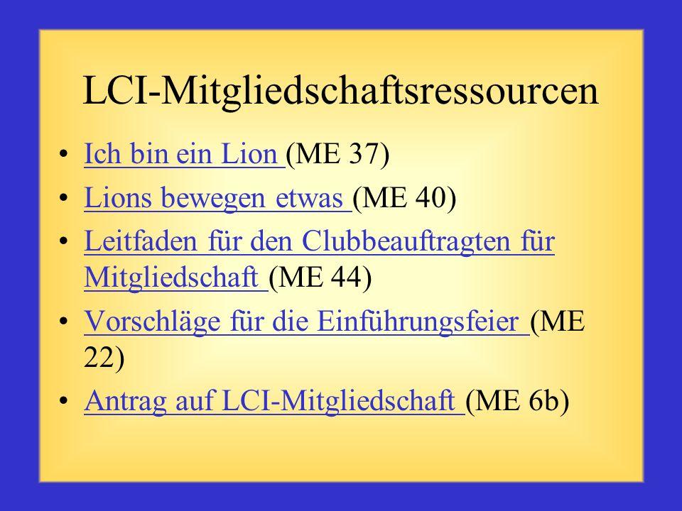 LCI-Mitgliedschaftsressourcen