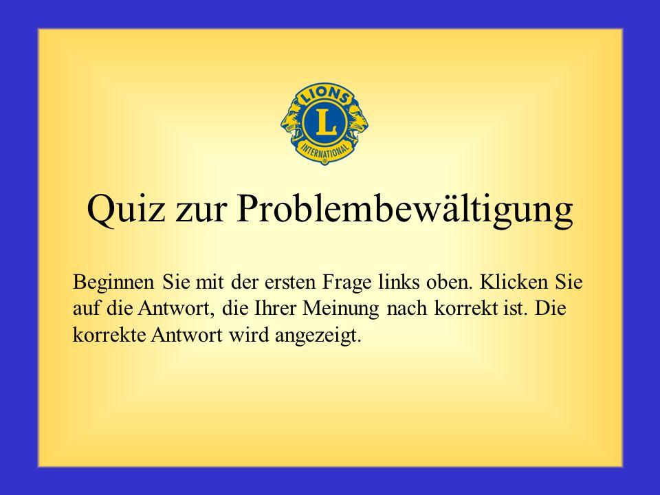 Quiz zur Problembewältigung