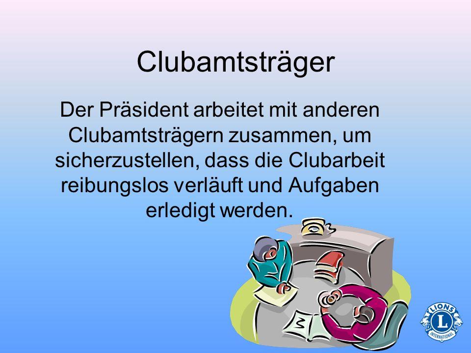 Clubamtsträger