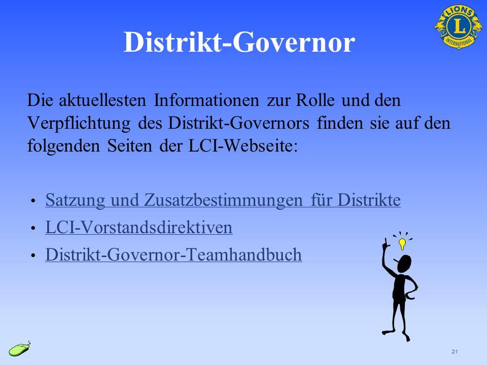 Distrikt-Governor
