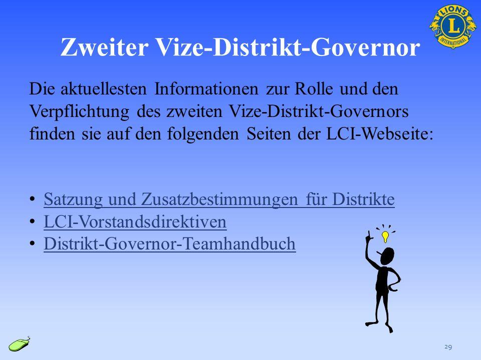Zweiter Vize-Distrikt-Governor
