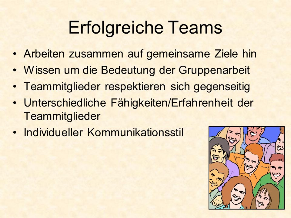 Erfolgreiche Teams Arbeiten zusammen auf gemeinsame Ziele hin