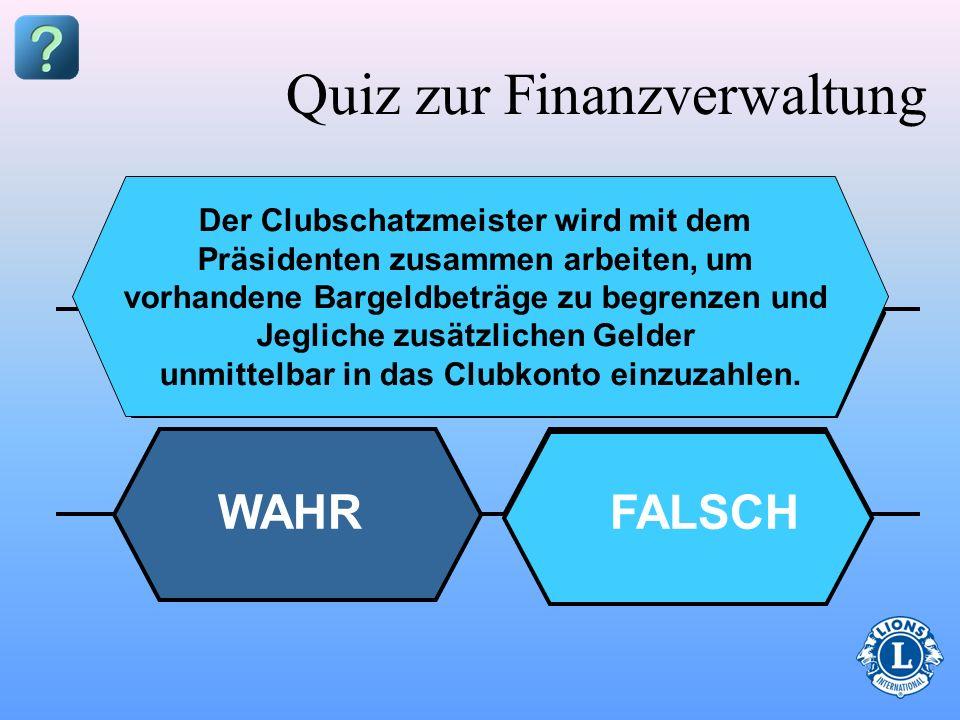 Quiz zur Finanzverwaltung