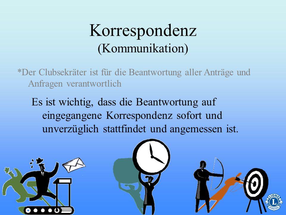 Korrespondenz (Kommunikation)