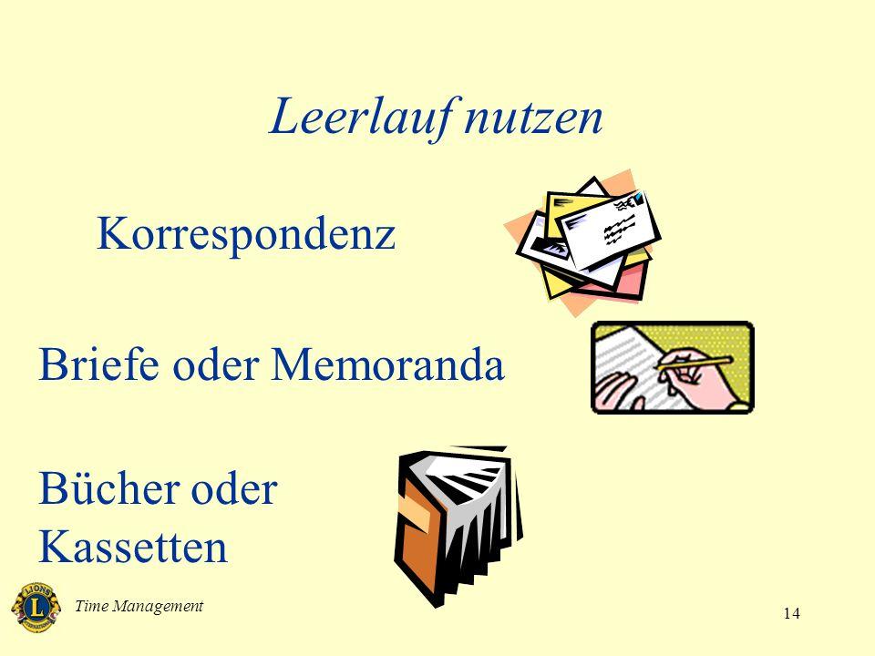 Leerlauf nutzen Korrespondenz Briefe oder Memoranda