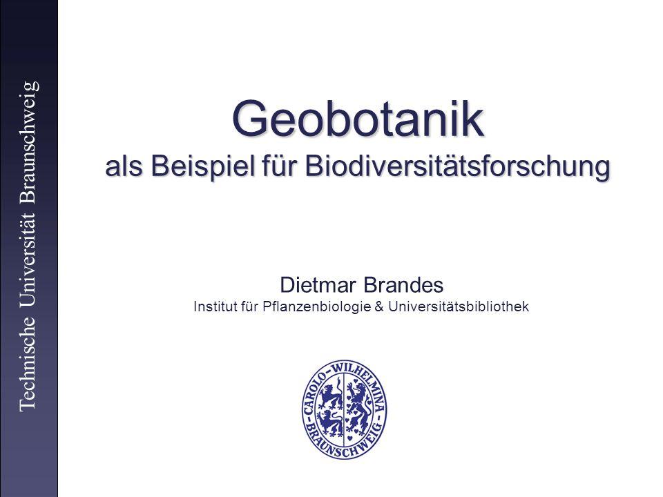 Geobotanik als Beispiel für Biodiversitätsforschung