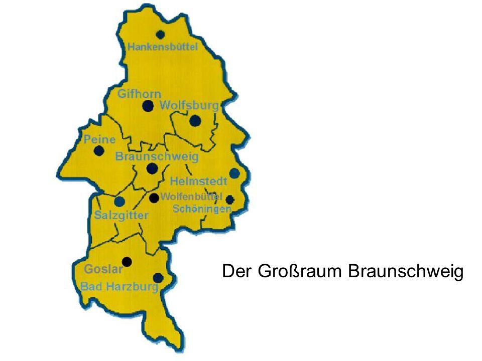 Der Großraum Braunschweig