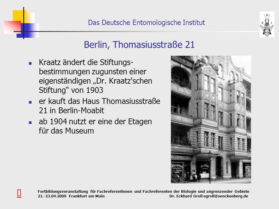 Berlin, Thomasiusstraße 21