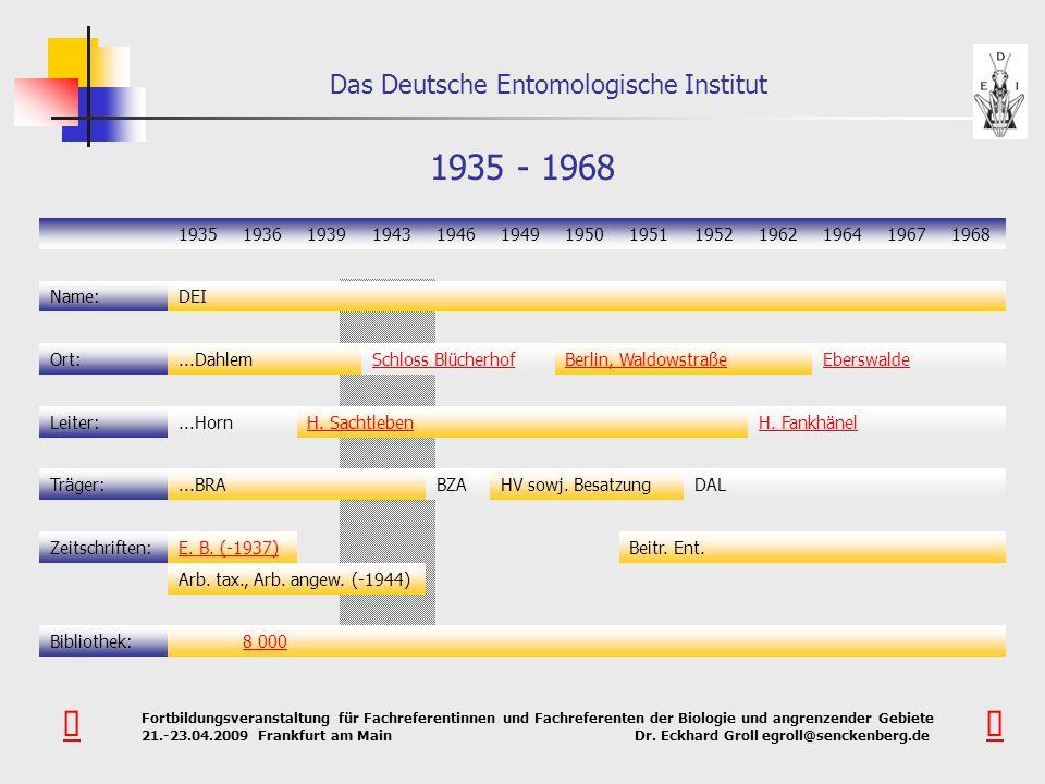 1935 - 1968 1935. 1936. 1939. 1943. 1946. 1949. 1950. 1951. 1952. 1962. 1964. 1967. 1968.