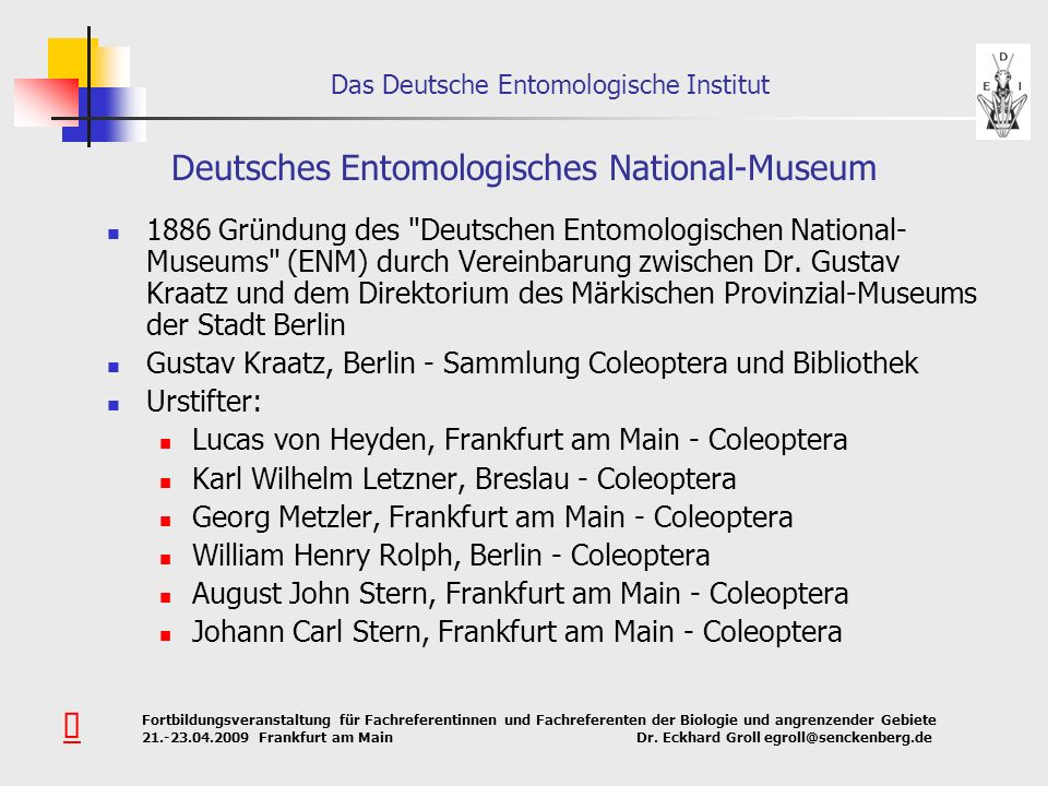 Deutsches Entomologisches National-Museum