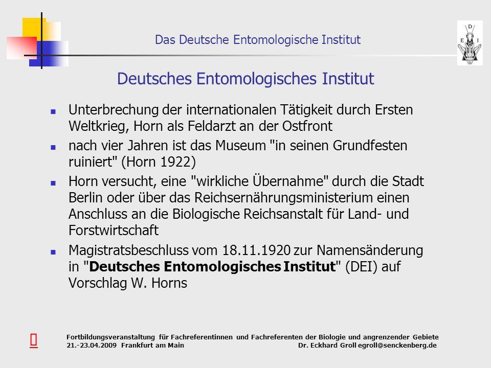Deutsches Entomologisches Institut