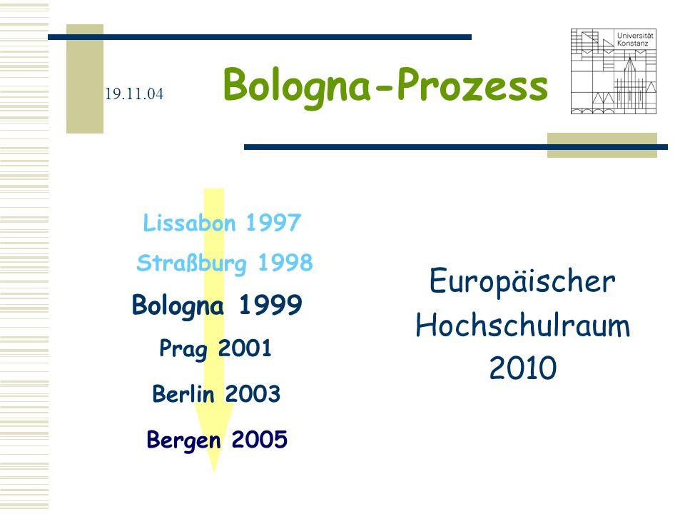 Europäischer Hochschulraum 2010