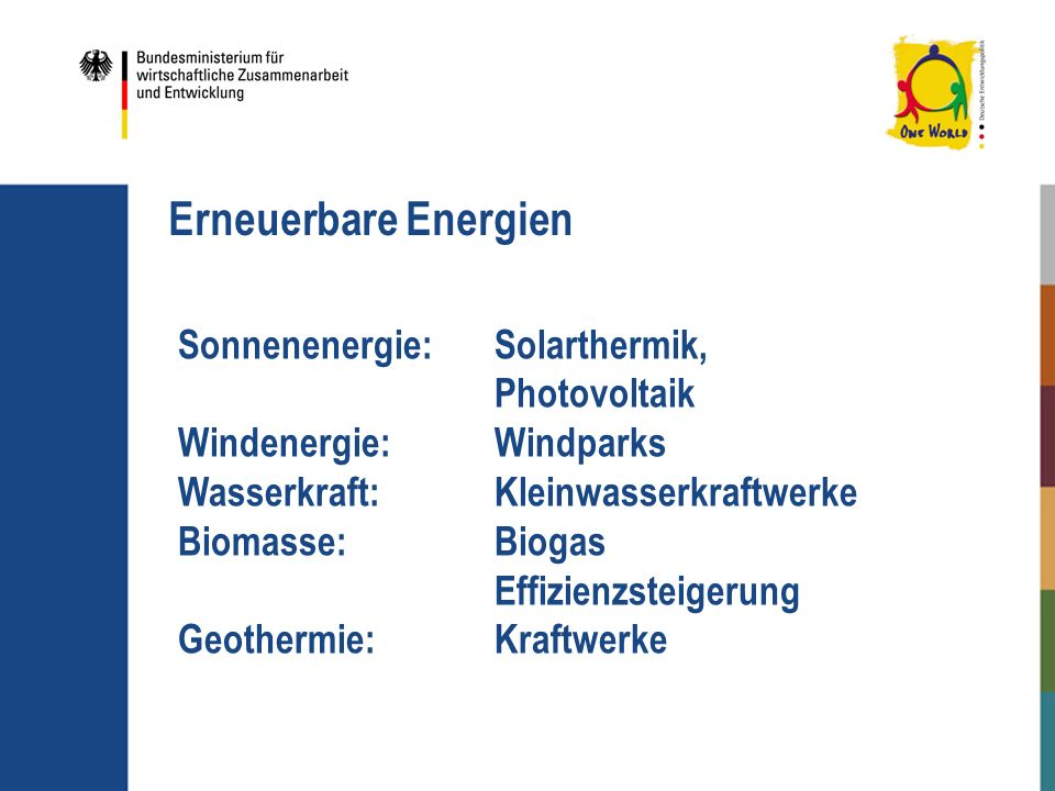 Erneuerbare Energien Sonnenenergie: Solarthermik, Photovoltaik
