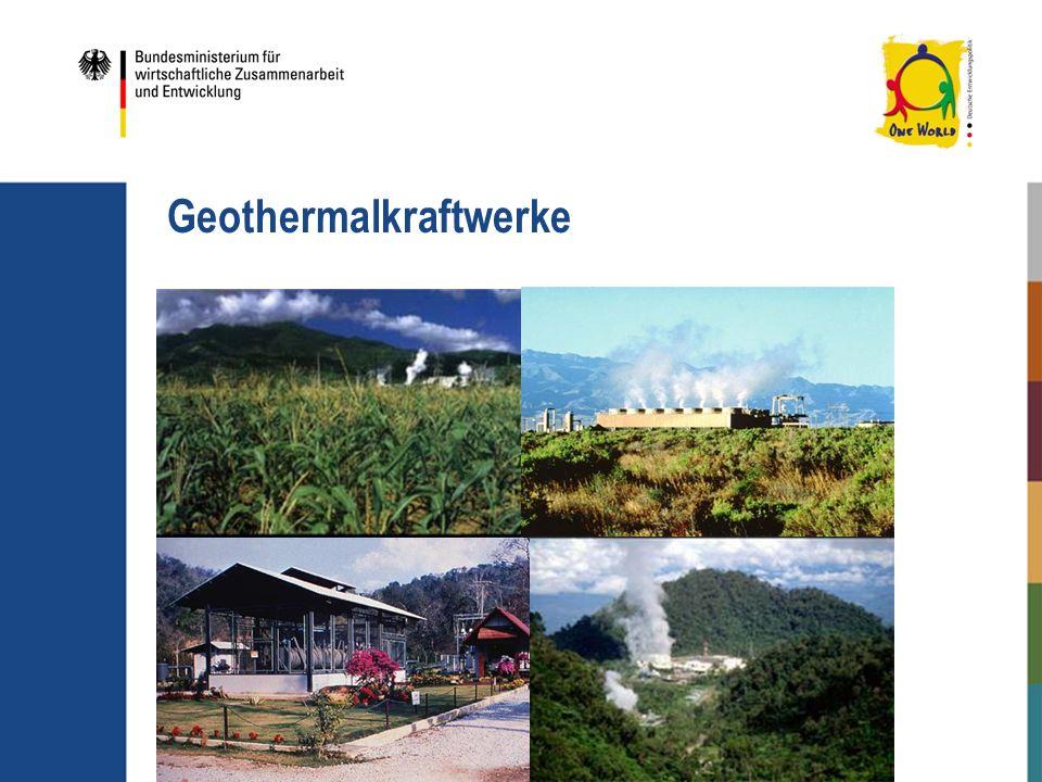 Geothermalkraftwerke