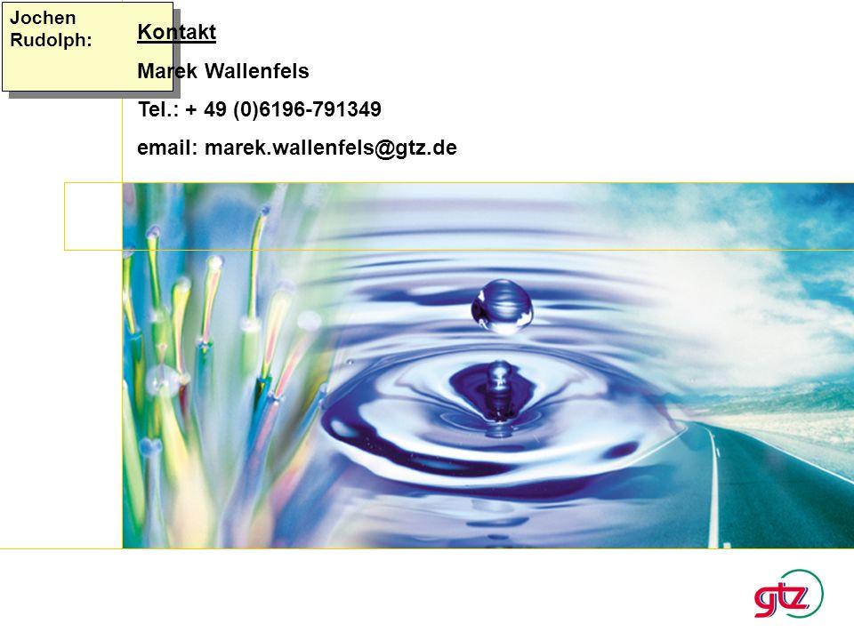 email: marek.wallenfels@gtz.de