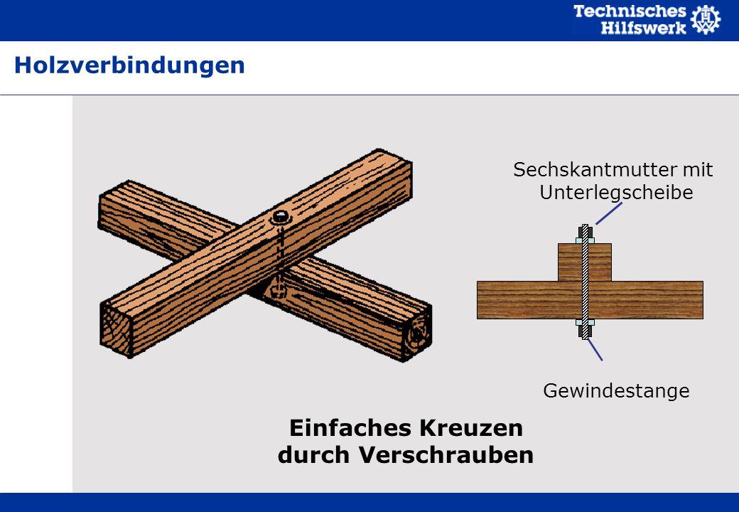 Einfaches Kreuzen durch Verschrauben