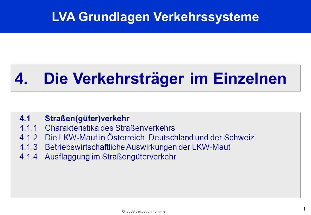 LVA Grundlagen Verkehrssysteme