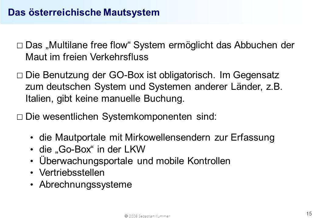 Das österreichische Mautsystem