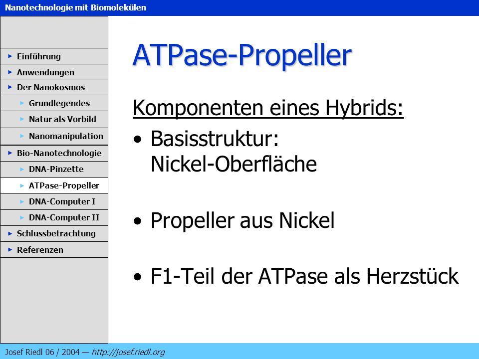 ATPase-Propeller Komponenten eines Hybrids: