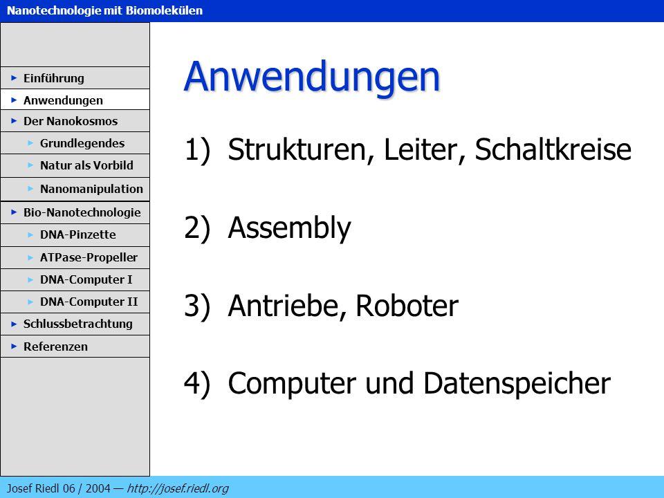 Anwendungen Strukturen, Leiter, Schaltkreise Assembly