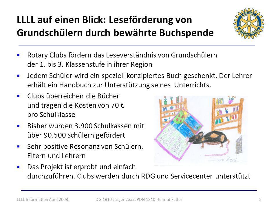 DG 1810 Jürgen Axer, PDG 1810 Helmut Falter