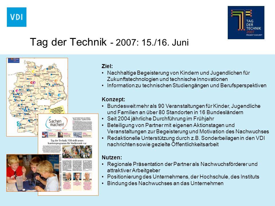 Tag der Technik - 2007: 15./16. Juni