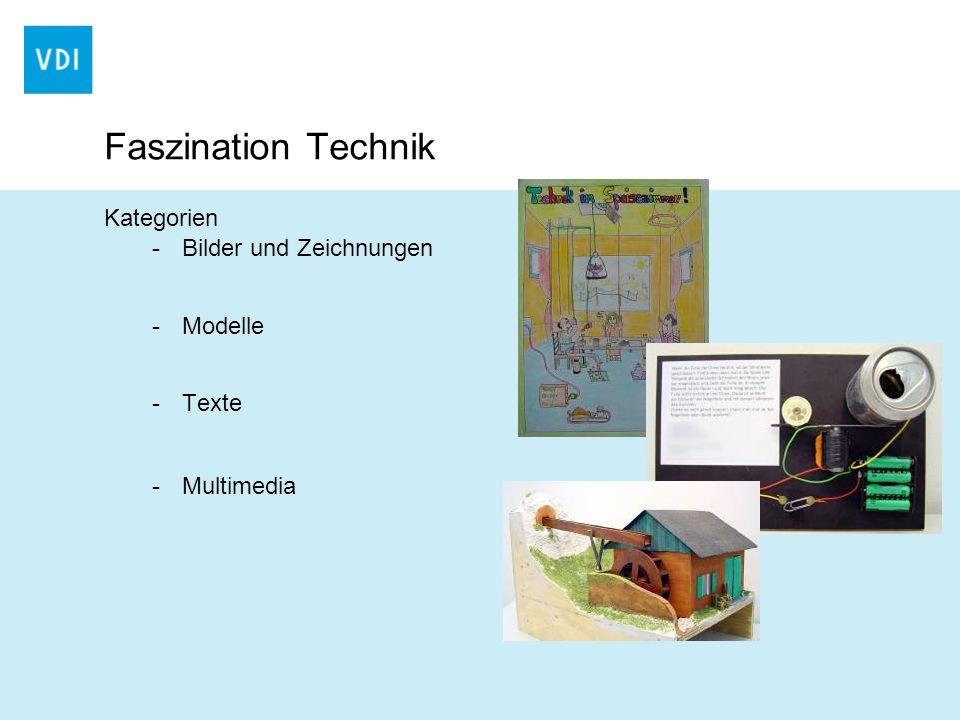Faszination Technik Kategorien Bilder und Zeichnungen Modelle Texte