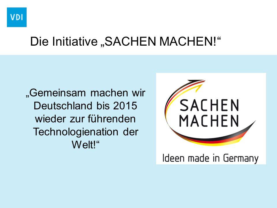 """Die Initiative """"SACHEN MACHEN!"""