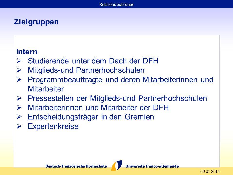 Studierende unter dem Dach der DFH Mitglieds-und Partnerhochschulen