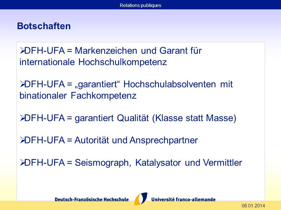 DFH-UFA = garantiert Qualität (Klasse statt Masse)