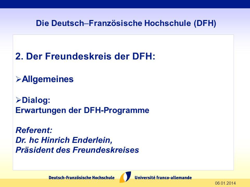 Die Deutsch–Französische Hochschule (DFH)