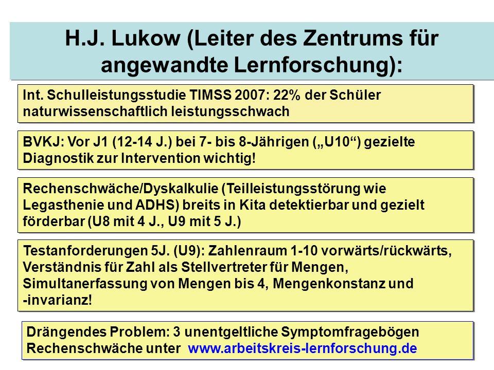 H.J. Lukow (Leiter des Zentrums für angewandte Lernforschung):