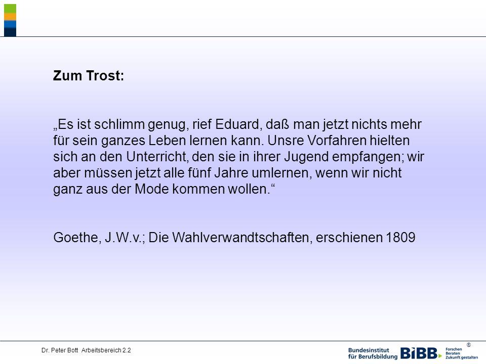 Goethe, J.W.v.; Die Wahlverwandtschaften, erschienen 1809