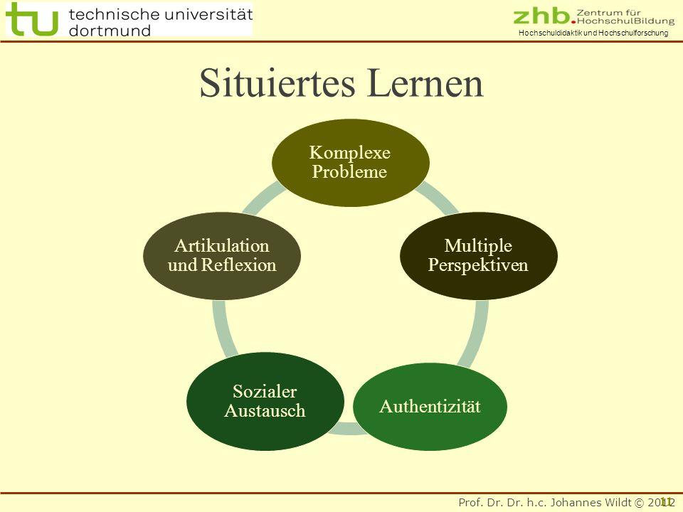 Situiertes Lernen Komplexe Probleme Multiple Perspektiven