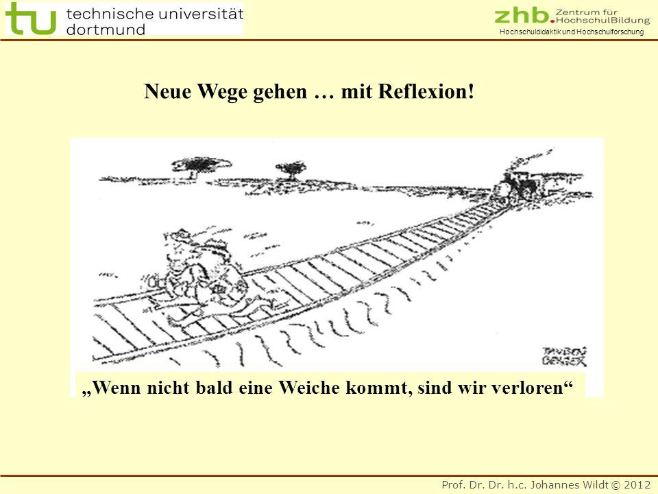 Neue Wege gehen … mit Reflexion!