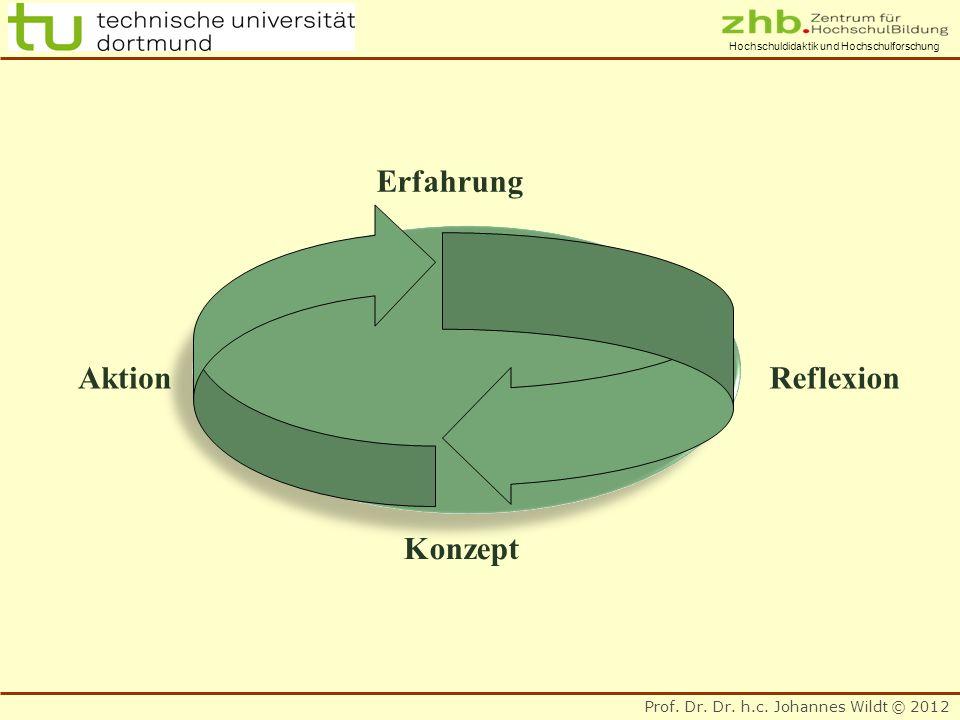 Erfahrung Aktion Reflexion Konzept