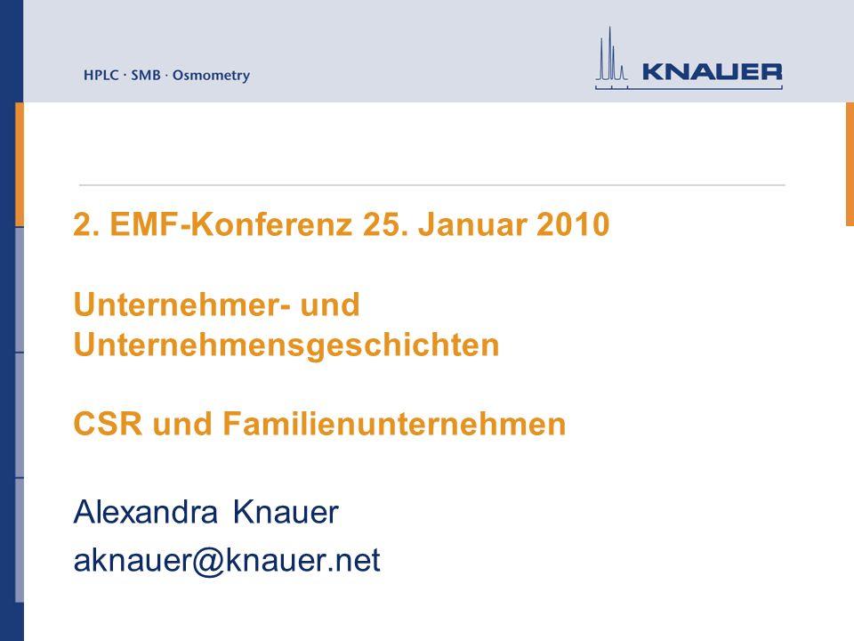 Alexandra Knauer aknauer@knauer.net