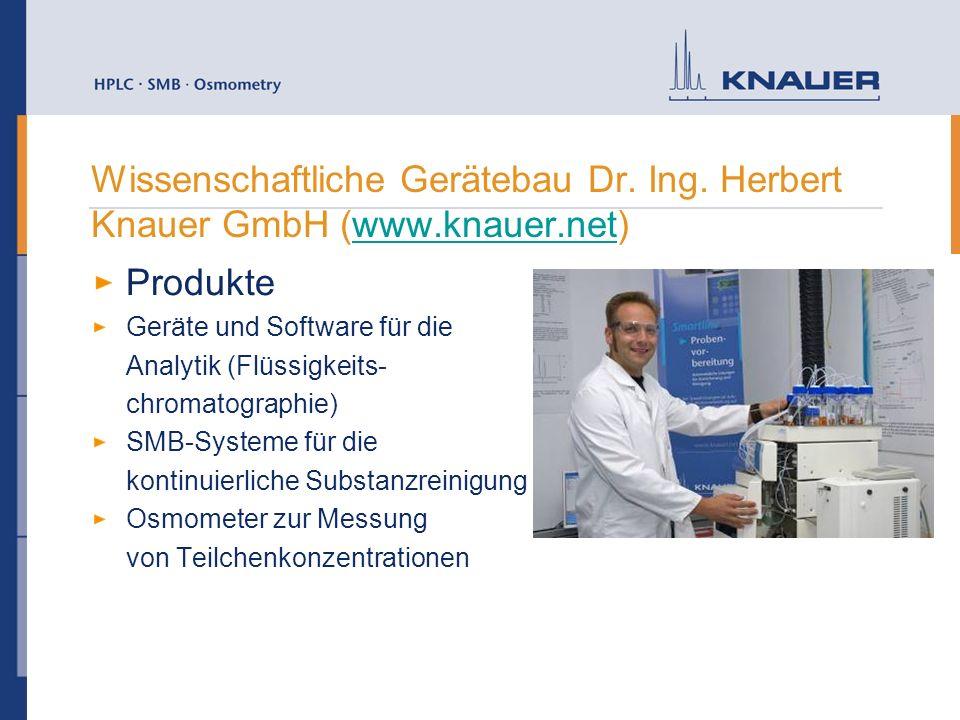 Wissenschaftliche Gerätebau Dr. Ing. Herbert Knauer GmbH (www. knauer