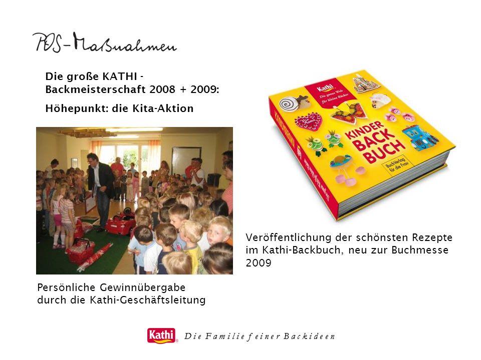 Die große KATHI - Backmeisterschaft 2008 + 2009: