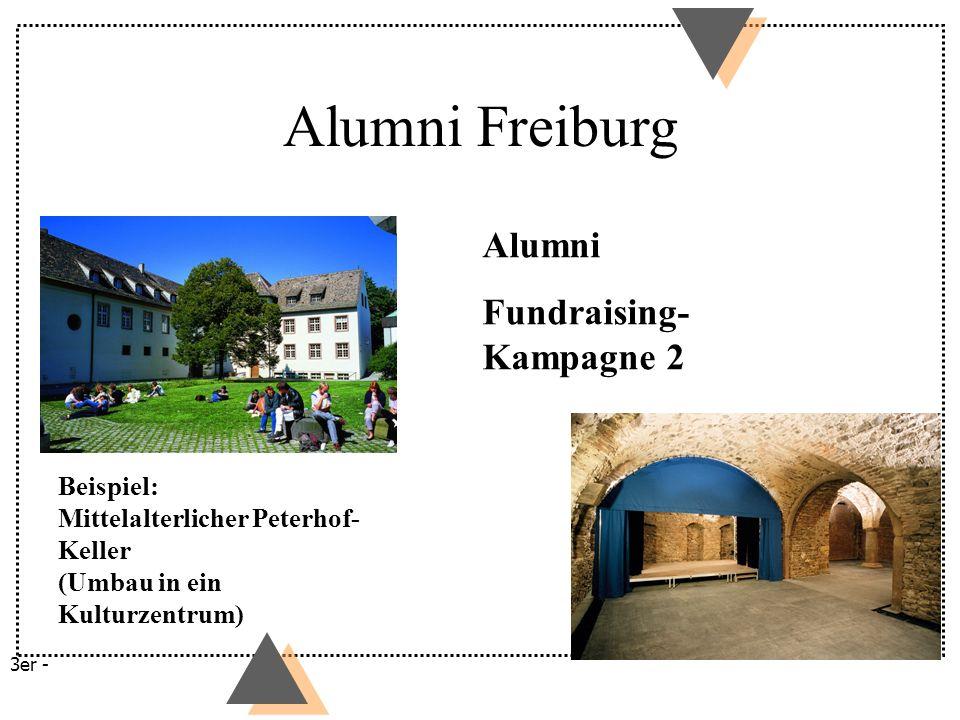 Alumni Freiburg Alumni Fundraising-Kampagne 2