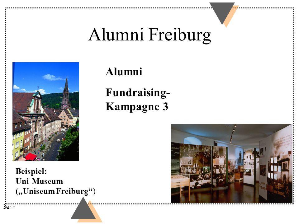 Alumni Freiburg Alumni Fundraising-Kampagne 3