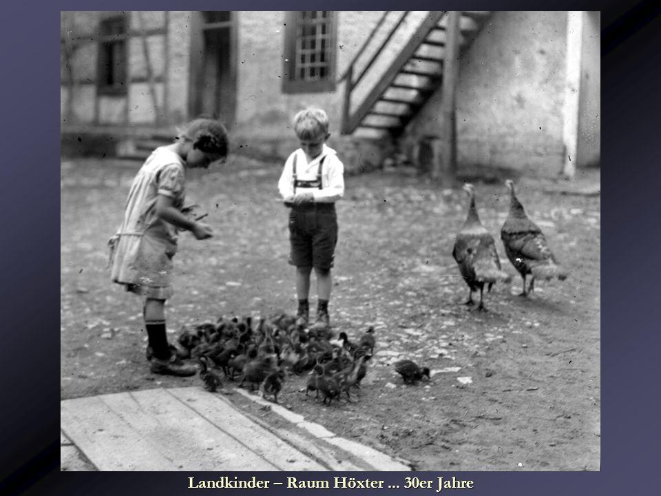 Landkinder – Raum Höxter ... 30er Jahre