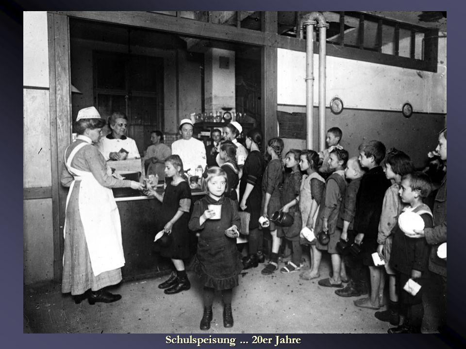 Schulspeisung ... 20er Jahre