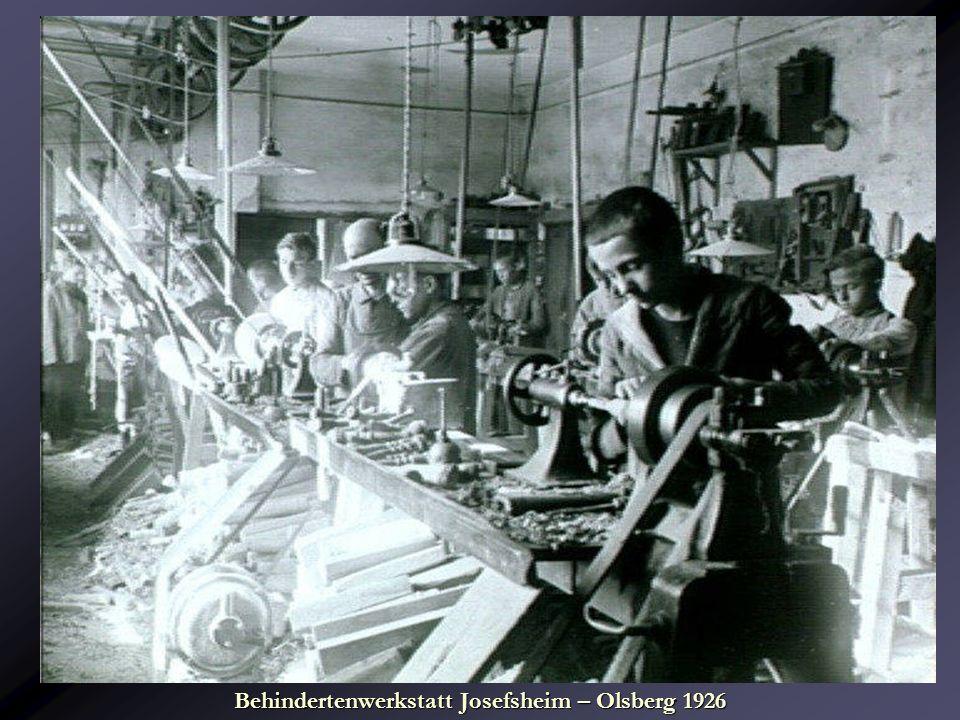 Behindertenwerkstatt Josefsheim – Olsberg 1926
