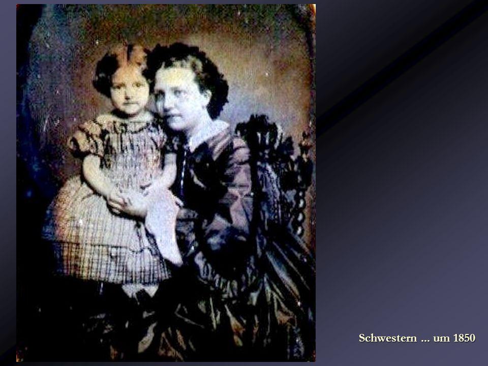 Schwestern ... um 1850