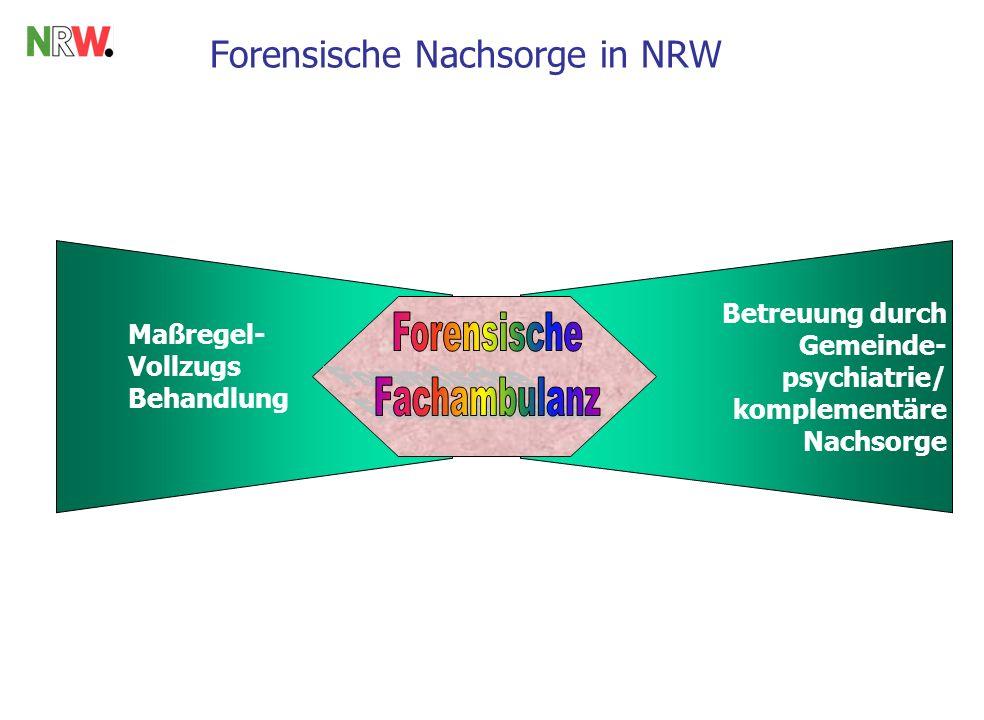 Forensische Nachsorge in NRW